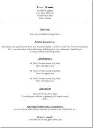 resumè template 28 images resuma template pdf 2017 simple