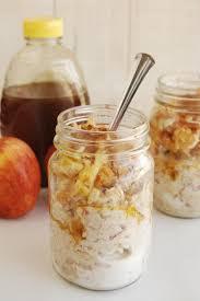 delicious honey apple cinnamon overnight oats recipe busy being
