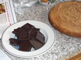 giant jaffa cake 6 steps pictures