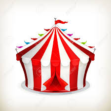 circus clipart festival tent pencil and in color circus clipart