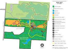 Bent Creek Trail Map Deer Haven Park Preservation Parks Of Delaware County