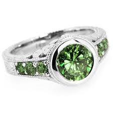 green diamonds rings images Blue green diamond engagement rings engagement ring usa jpg