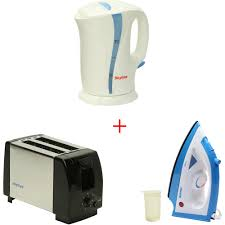 Kettle Toaster Offers Get 71 Off On Combo Of Skyline 1 L Kettle Euroline Steam Iron