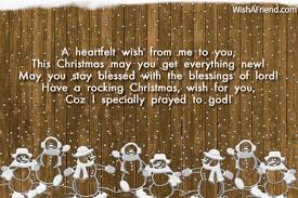 a heartfelt wish from me to merry christmas wish