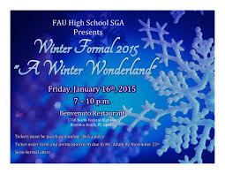 winter formal 2015 fau high school s student government association