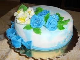 Blue Rose Cake By Rosecake On Deviantart