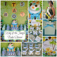 jungle baby shower favors s crafts king of the jungle baby shower