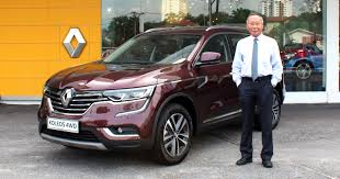 renault koleos renault koleos 2 5l now officially available with 4wd in malaysia
