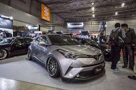 toyota chr jdm aftermarket embraces the toyota c hr u2013 tokyo auto salon 2017