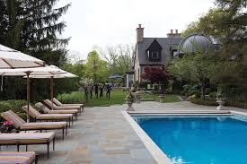 Cincinnati Pool And Patio by Traditional Comforts A Former Hunting Lodge And The Memories