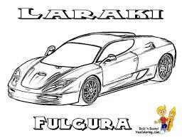 coloring pages drifting cars laraki fulgura supercars coloring sheet at yescoloring http www