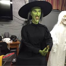 wizard of oz costumes spirit halloween wicked witch of the west on broom youtube