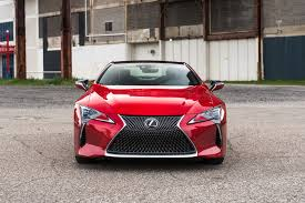 red lexus 2018 one week with 2018 lexus lc 500 automobile magazine
