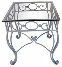 wrought iron end tables vintage metal outdoor coffee table modern patio outdoor for