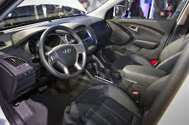 hyundai tucson 2015 interior hyundai tucson fuel cell models begin arriving in california