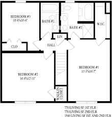 Second Story Floor Plans by Klondike Two Story Style Modular Homes