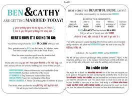 Examples Of Wedding Programs Templates The 25 Best Modern Wedding Program Ideas On Pinterest Fun