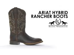 ariat hybrid rancher boots youtube