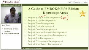 project management professional a guide to pmbok fifth edition