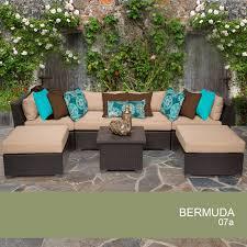 Wicker Patio Furniture Ebay Bermuda Patio Furniture Tk Classics Bermuda 6 Piece Outdoor Wicker