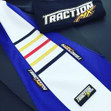 custom motocross jersey media traction mx custom gripper seat covers