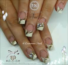 acrylic nails rose gold www sbbb info