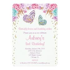 butterfly invitations u0026 announcements zazzle