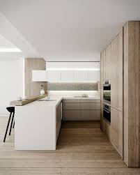 images of white kitchen cabinets with light wood floors 15 trendy looking modern wood kitchens shelterness