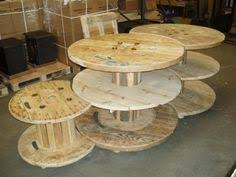 Cable Reel Table by Giant Cotton Reel Coffee Table Made From An Old Electrical Cable