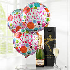 balloon delivery uk chagne balloon gift set isle of wight flowers