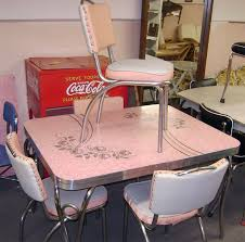pink retro kitchen collection best 25 kitchen dinette sets ideas on 1950s diner
