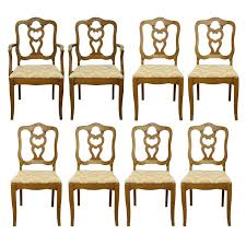 Maple Dining Chair Vintage French Provincial Maple Dining Chairs Ebth