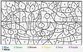 color number coloring image gallery coloring pages number