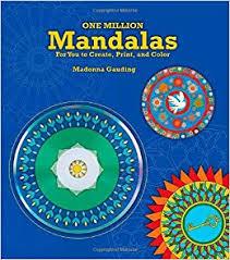 million mandalas create print color madonna