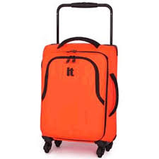 lightest cabin bag it luggage worlds lightest small 4 wheel suitcase fluorescent