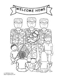 coloring pages and books thank you for your service coloring page