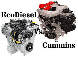 Dodge Ram Cummins Accessories - 5 0l cummins vs 3 0l ecodiesel head to head comparison