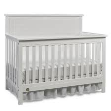 Grey Convertible Crib by Price Quinn White Full Panel Convertible Crib