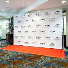 back drop 8 x 12 step and repeat backdrop for your carpet