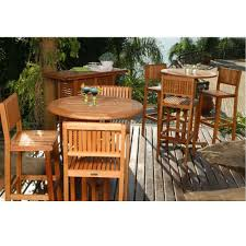Bar Height Patio Dining Set by Amazonia Ibiza 4 Piece Patio Bar Set Bt Barset The Home Depot