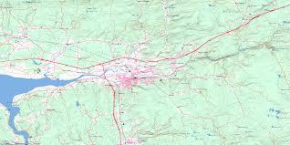 Map Of Nova Scotia Truro Ns Free Topo Map Online 011e06 At 1 50 000