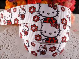 ladybug ribbon new arrival 7 8 22mm printed grosgrain ribbon ladybug ribbons
