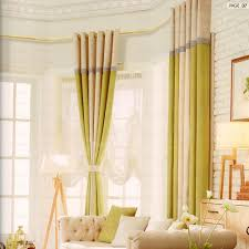 2016 new arrival privacy casual modern curtains linen cotton