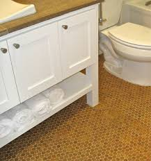 cork flooring bathroom photos of cork flooring installed in a