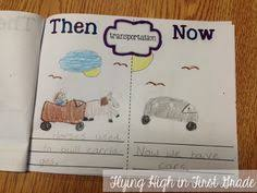 now and then freebie thanksgiving social studies and