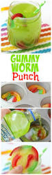Halloween Appetizers For Kids Party by Gummy Worm Punch Recipe Saints Birthdays And Summer