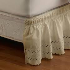 White Bed Skirt Queen Buy Bed Skirts King From Bed Bath U0026 Beyond