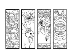 coloring pages for adults easter diy easter bookmarks printable coloring page adult coloring