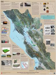 San Francisco Bay Map by Quaternary Downloads