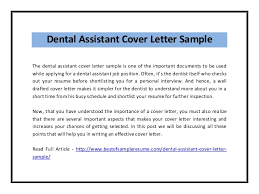 best solutions of dental nurse job application cover letter with